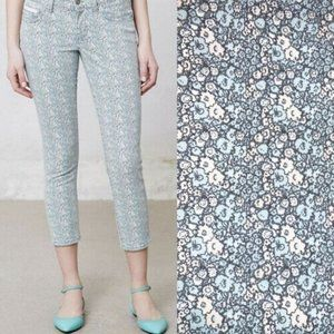 Pilcro and the Letterpress Floral Jeans